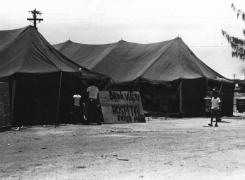 Hospital Tent, Operation New Life. c. 1975
